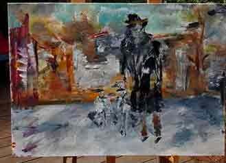 חוג ציור רחובות
