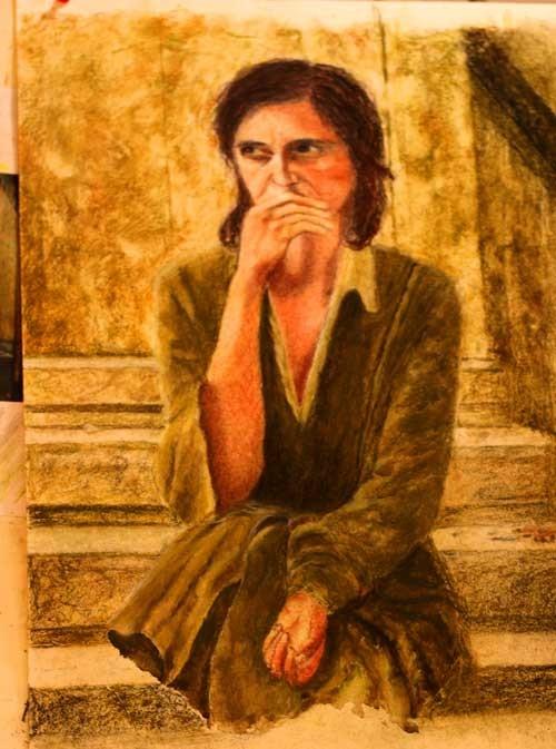 לימוד ציור שוהם