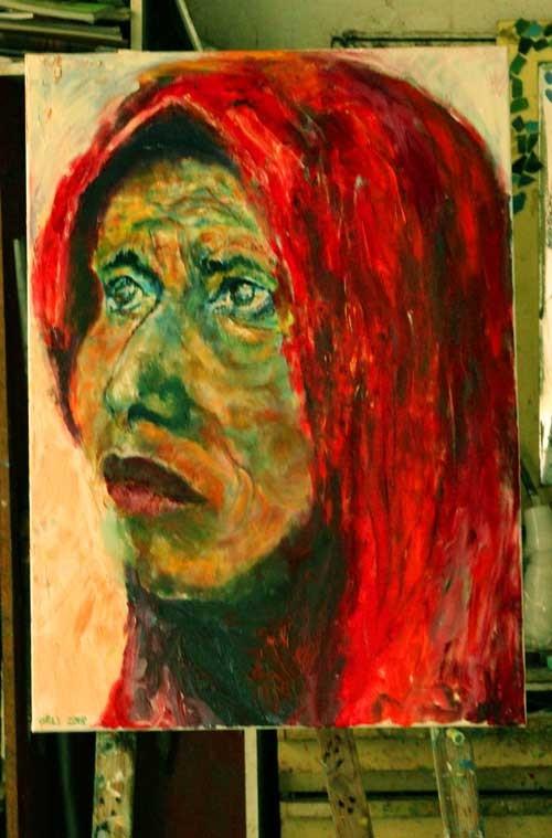 חוג ציור למבוגרים רחובות-ציור של אורלי אברהמי