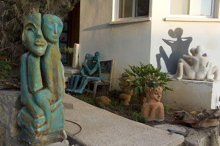 פסלים לגינה